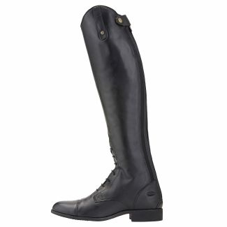 Ariat Men's Heritage Contour II Field Zip Riding Boots Black - Chelford Farm Supplies