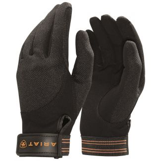 Ariat Ladies Tek Grip Riding Gloves