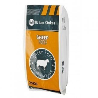 H J Lea Oakes Super Ewe Extra Nuts 18% 25kg