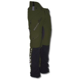 Arbortec Breatheflex Type A Class 1 Chainsaw Trousers Olive Green