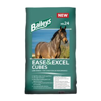 Baileys No.24 Ease & Excel Horse Feed Cubes 20kg