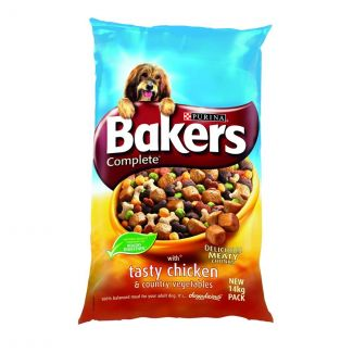 Bakers Complete Chicken and Vegetables Dog Food 14kg