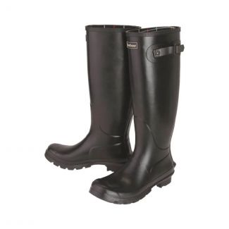 Barbour Ladies Bede Wellington Boots Black - Cheshire, UK