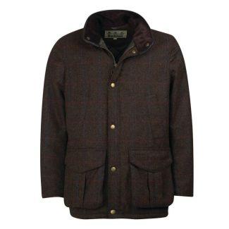 Barbour Mens Hereford Tweed Jacket Olive - Cheshire, UK
