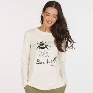 Barbour Ladies Heather Knit Sweatshirt