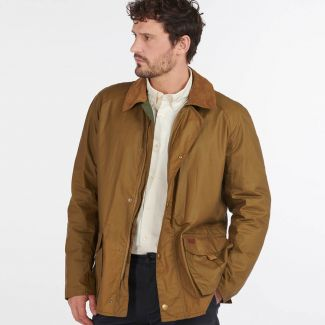Barbour Mens Alderton Lightweight Waxed Jacket