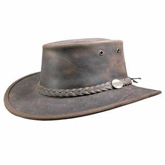 Barmah Leather Hat Bronco Brown - Chelford Farm Supplies
