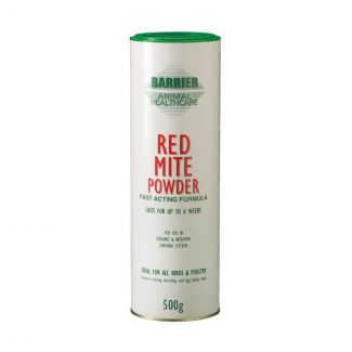 Barrier Red Mite Powder 500g | Chelford Farm Supplies