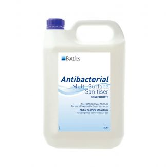 Battles Antibacterial Multi-Surface Sanitiser 5ml