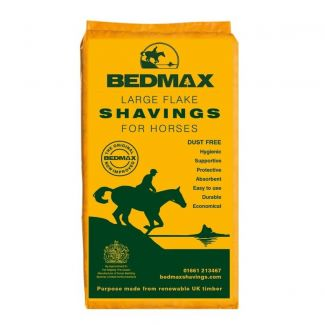 Bedmax Large Flake Shavings For Horses - Cheshire