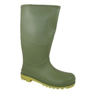Berwick Youth Wellington Boot Green