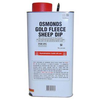 Bimeda Osmonds Gold Fleece Sheep Dip 5l - Chelford Farm Supplies