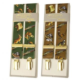 Bonart Mens Gun Pattern Braces - Chelford Farm Supplies