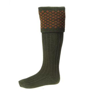 House of Cheviot Boughton Spruce Socks - Cheshire, UK