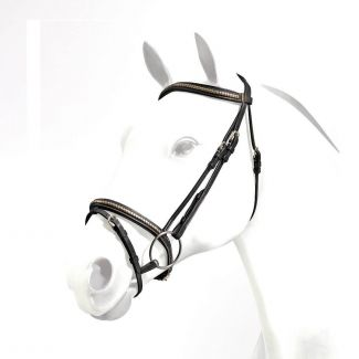 Equipe Emporio Clinchered Flash Bridle - Chelford Farm Supplies