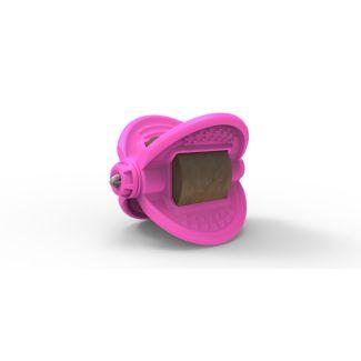 Bizzy Bites Toy Hot Pink