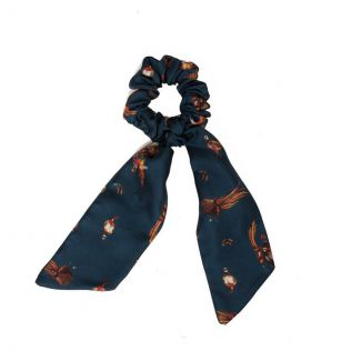 Clare Haggas Game Bird Medium Silk Scrunchie | Chelford Farm Supplies
