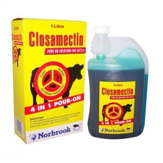 Closamectin Pour On Cattle Wormer