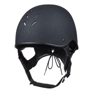Charles Owen JS1 Pro Jockey Skull Black