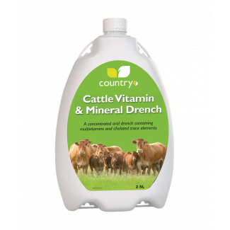 Country UF Cattle Vitamin & Mineral Drench - Chelford Farm Supplies