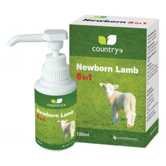 Country UF Newborn Lamb 5 in 1 100ml