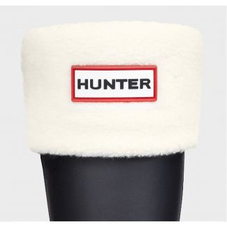 Hunter Kids Welly Sock Cream