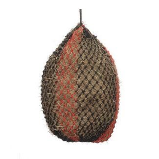 Shires Deluxe Haylage Net Black/Red Large