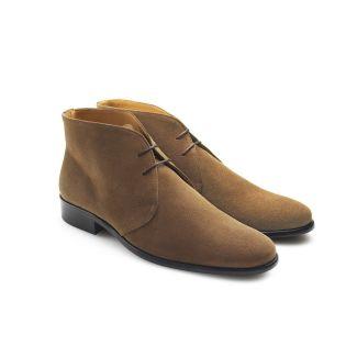 Fairfax & Favor Mens Suede Desert Boots Tan