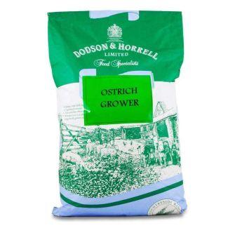 Dodson & Horrell Ostrich Grower Pellets 20kg - Chelford Farm Supplies