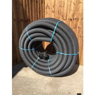 Cherry Pipes HDPE Land Drain Non Perforated 100mm x 100M
