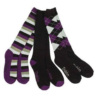 Dublin Ladies Knee Socks 3 Pack - Chelford Farm Supplies