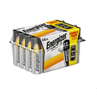Energizer AA Alkaline Power Home Pack Batteries Pack of 24