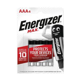 Energizer MAX AAA Batteries 4 Pack | Chelford Farm Supplies