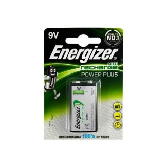 Energizer Rechargeable Power Plus 9V Battery
