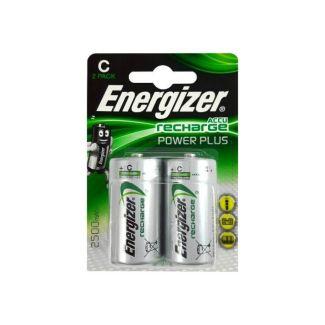 Energizer Rechargeable Power Plus C Battery 2 Pack | Chelford Farm Supplies