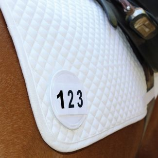 Equetech Saddle Cloth Competition Number Holder- Chelford Farm Supplies