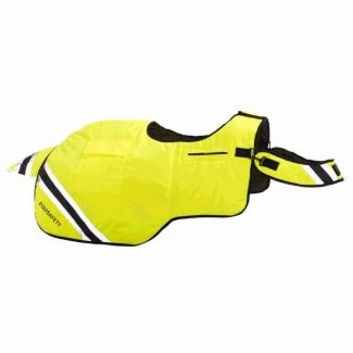 Equisafety Polite Hi-Viz Winter Wrap Around Rug - Chelford Farm Supplies