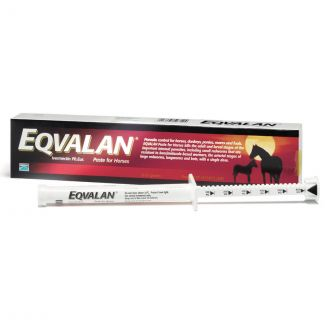 Eqvalan Standard Oral Paste Horse Wormer - Cheshire, UK