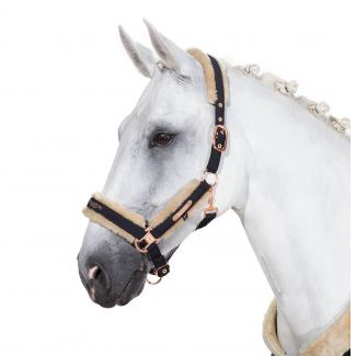 Eskadron Softshell Faux Fur Headcollar