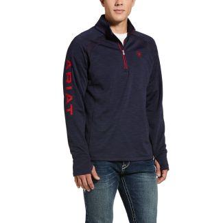 Ariat Mens Tek Team 1/2 Zip Sweatshirt