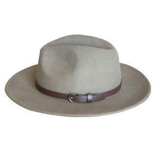 Failsworth Adventurer Wide Brim Felt Hat Turf