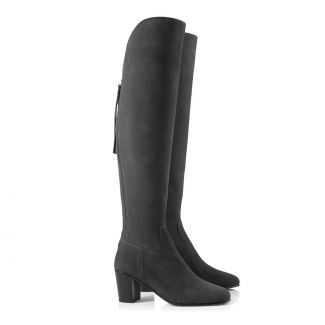 Fairfax & Favor Ladies Heeled Amira Over The Knee Suede Boots