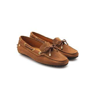Fairfax & Favor Ladies Henley Driver Shoe Tan