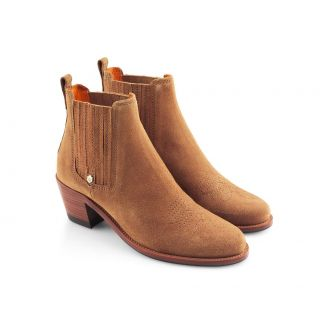 Fairfax & Favor Ladies Rockingham Suede Ankle Boots