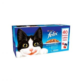 Felix Fish Selection Cat Food Pouch 40 Pack   Chelford Farm Supplies