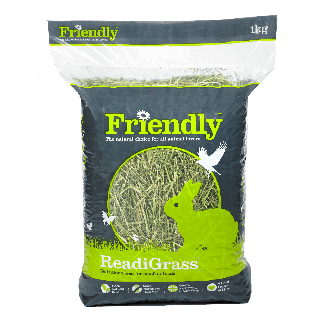Friendship Estates Friendly ReadiGrass Small Animal Food 1kg - Chelford Farm Supplies