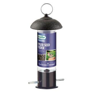 Gardman Black Steel Nyjer Seed Bird Feeder - Chelford Farm Supplies