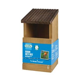 Gardman Robin Nest Box - Chelford Farm Supplies