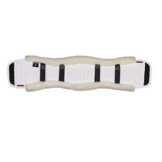 Le Mieux Dressage Girth Cover White/White