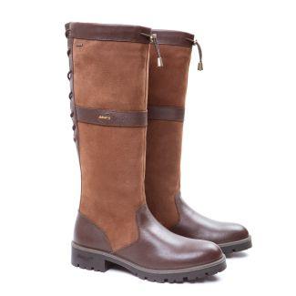 Dubarry Ladies Glanmire Country Boot Walnut